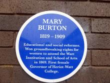 Mary Burton Building at Heriot Watt University, Riccarton Campus