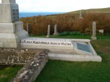 Inscription on monument to Flora MacDonald