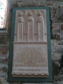 Memorial to Elsie Maud Inglis at St Giles Cathedral