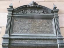 Plaque to Mary Queen of Scotland