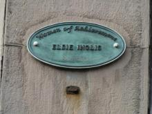 Women of Achievement Trail Plaque to Elsie Inglis