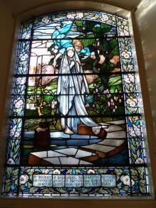 Stained Glass Window in Memory of Margaret Bannatyne Bryson