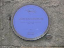 Plaque to Mary Brooksbank