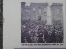 Monument to Flora MacDonald at Inverness Castle