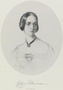 pen and ink drawing, National Portrait gallery