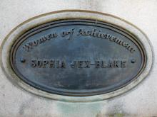 Women of Achievement Plaque to Sophia Jex-Blake