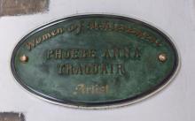 Phoebe Anna Traquair Women of Achievement Plaque