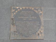 Plaque to Margaret Fairlie
