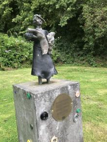 Statue of May Donoghue