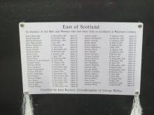 Plaque at Woolmet