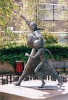 Jackie Crookstone statue, Tranent