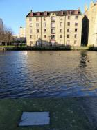 Plaque at The Shore, Leith, where Mary Queen of Scots landed in Scotland from France