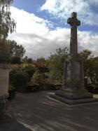 Staff Nurse Macbeth on War Memorial Pitlochry