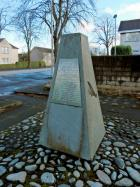 Scottish Air Ambulance Service Memorial, Renfrew in memory of the pilots and nurses of the service