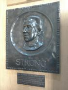 Plaque to Rebecca Strong