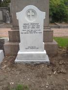 Gravestone of Helen Priestly