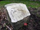 Memorial at Elsie Inglis Grove, Holyrood Park, Edinburgh