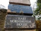 Plaque to Susan Ferrier at East Morningside House