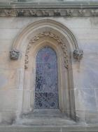 External photo of window