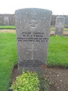 Gravestone of Monica Grose
