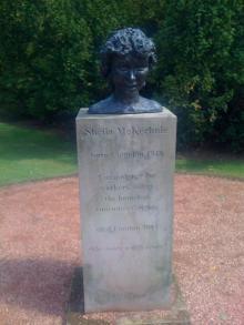 Memorial to Dame Sheila McKechnie