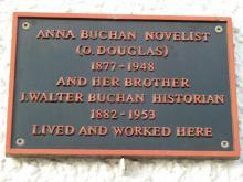 Memorial Plaque to Anna (Masterton) Buchan