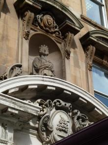 Bust of young Queen Victoria by John Mossman