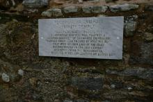 Photograph of plaque