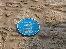Plaque to Lorna moon