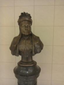 Bust of Marjory Shanks Schaw