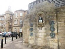 Florence Nightingale Plaque at Royal Edinburgh Hospital