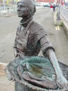 Stornoway Herring Girl, South Beach, Stornoway