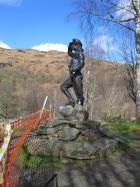 Lumberjill Statue