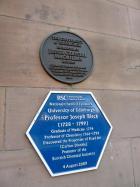 Plaque at King's Buildings, Edinburgh for Jessie Chrystal MacMillan